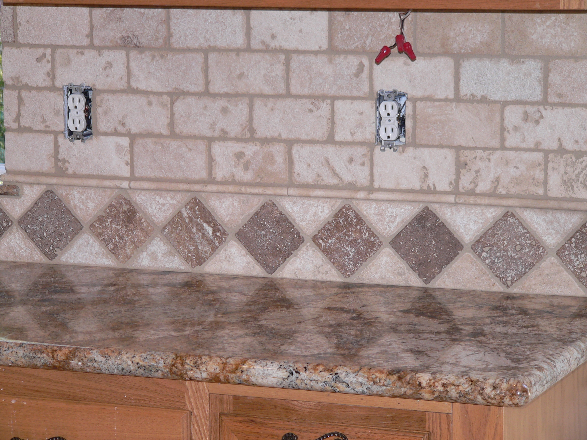 alfa img showing best grout for travertine backsplash